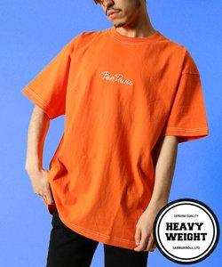 【 BEN DAVIS(ベンデイビス) 】 ≪WEB限定≫ ロゴ刺繍スーパービッグシルエット半袖Tシャツ
