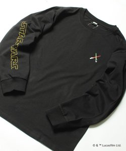 【STARWARS(スターウォーズ)】バックフォトプリント長袖Tシャツ