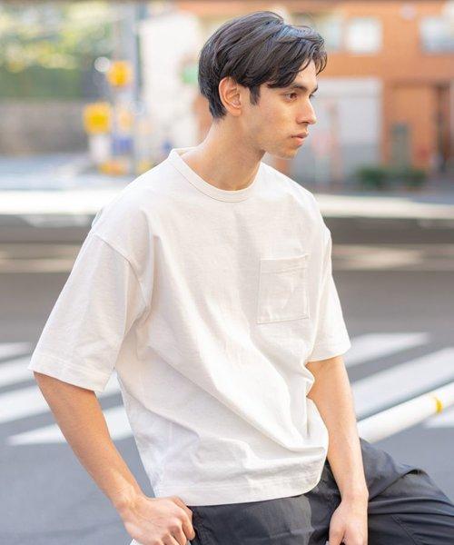 ≪WEB限定≫ HAGEN HAGEN / RECOVER ビッグシルエット 無地 天竺 半袖Tシャツ