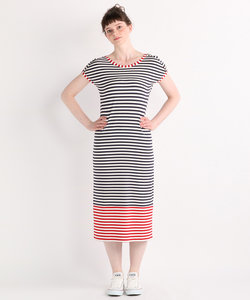 Border line ドレス