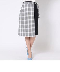 【2way】ラップ風スカート
