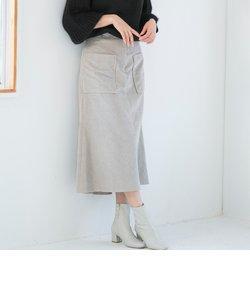 サイドポケットコーデュロイスカート