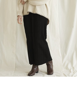 【WEB別注】スエードプリーツタイトスカート