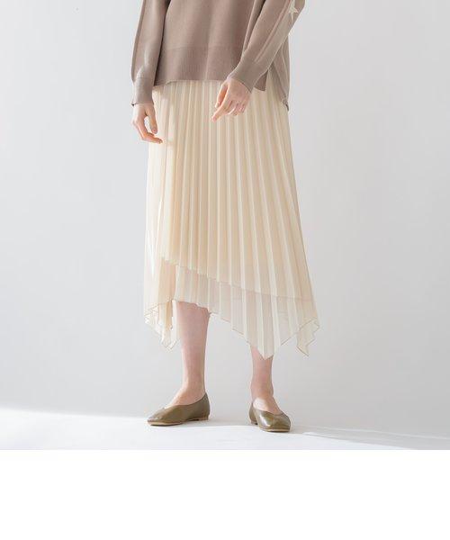 【socolla】イレギュラーヘムスカート