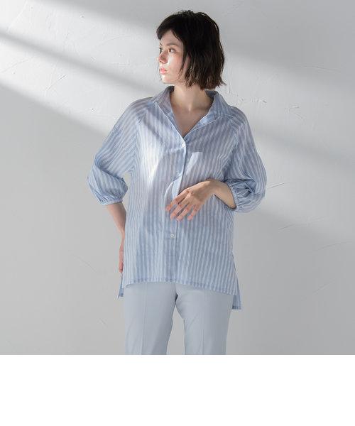 袖ボリュームシャツ