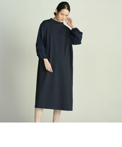 【WEB別注】コンパクトミニ裏毛ボリューム袖ワンピース