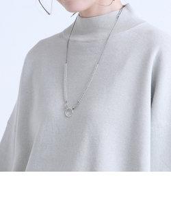 【4WAY】カレンシルバーリング付きチェコガラスビーズグラスコード