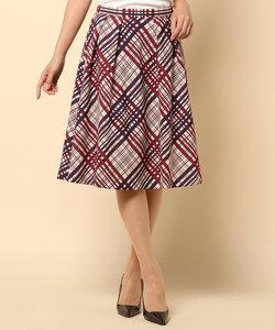 クロッシーチェック スカート