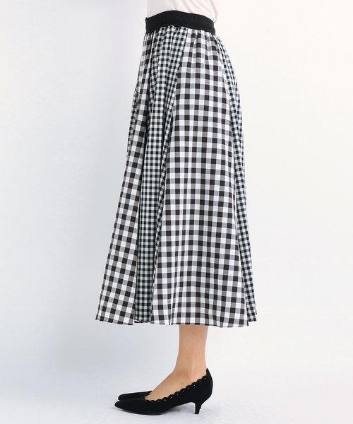 DVモノトーン スカート