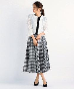 DVモノトーン ロングスカート