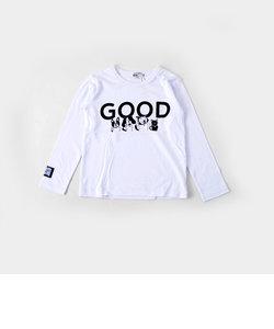 【カタログ掲載】天竺ワスクンプリントTシャツ(140cm~160cm)