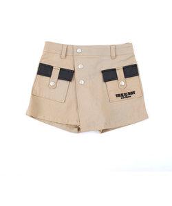 【カタログ掲載】ストレッチツイル巻きスカートパンツ