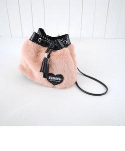 【ニコプチ掲載】【カタログ掲載】ファー巾着バッグ