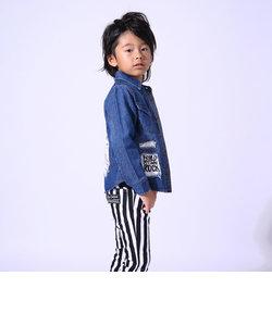 【カタログ掲載】ライトオンスデニムデザインシャツ