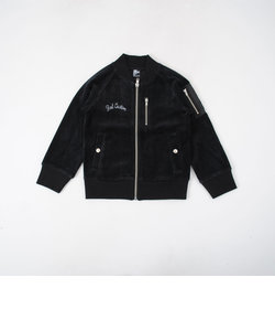 【カタログ掲載】コットンベロアMA-1風ショートジャケット