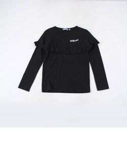 天竺フリルTシャツ