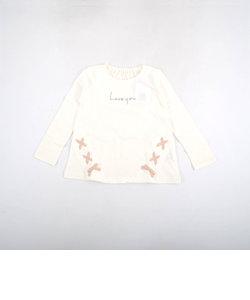 【カタログ掲載】天竺編み上げロゴTシャツ