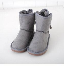 【カタログ掲載】フェイクムートンリボン付ブーツ