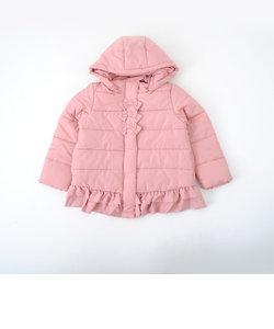 タフタリボン付中綿コート