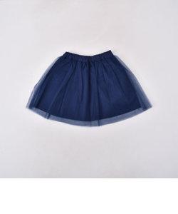チュールカラースカート