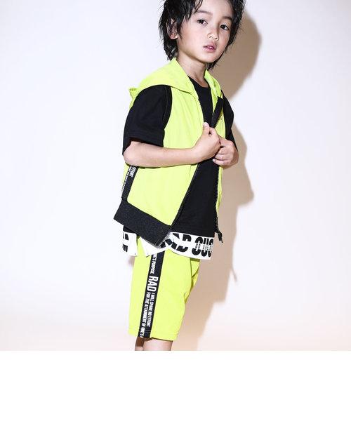 【カタログ掲載】ロゴラインテープメッシュハーフパンツ