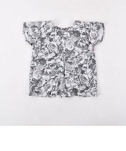 フライスリゾートプリントAラインTシャツ