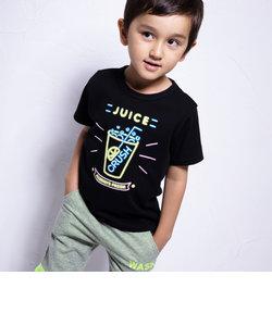 冷感柄ナレネオンプリントTシャツ(110cm~130cm)