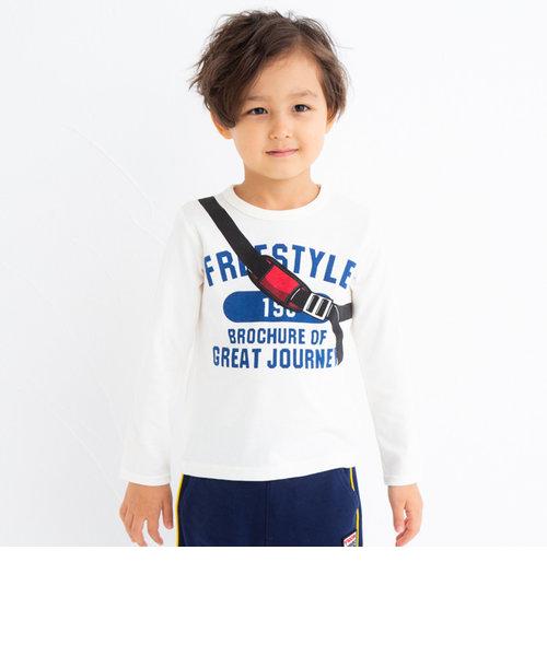 天竺eくんワンショルプリントTシャツ