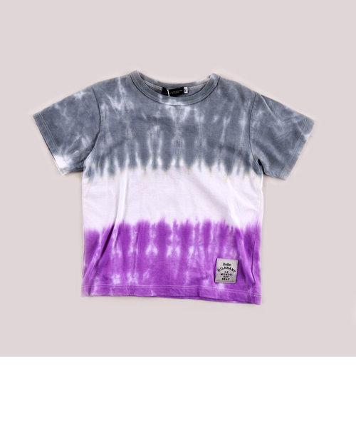 手染め絞り加工Tシャツ