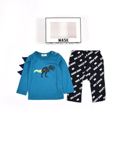 【ギフトBOX付き】BABY 恐竜 T + ロゴ パンツ ギフトセット (80cm~90cm)