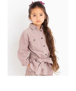 シャツコール  シャツ ジャケット ベルト ループ付き(100cm~150cm)