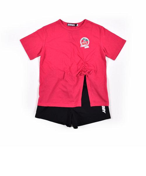チェリーTシャツ+パンツセット
