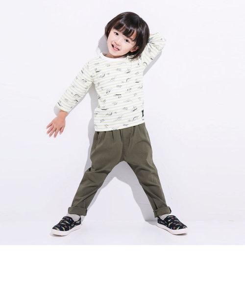 【WEB別注】WEB 限定 カラー 8色 通年 ストレッチ パンツ (80cm~130cm)