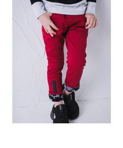 迷彩 ボンディング ツイル スキニー ロング パンツ (90cm~160cm)
