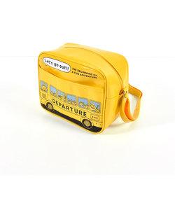 キャンディー バス プリント 通園 エナメル バッグ
