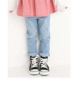 刺繍入り ジョグ デニム パンツ (80~130cm)