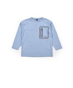 ジップポケット バックロゴ Tシャツ(120~160cm)