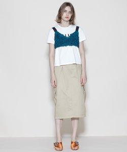 ロングチノスカート