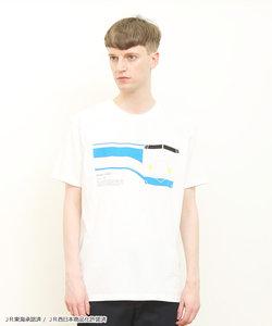 コラボレーションTシャツ/ひかり(トレインズ)(ホワイト)