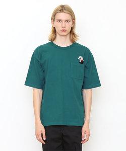 ヘヴィーウェイト半袖TシャツB/トップオブザワールド(ブルーグリーン)