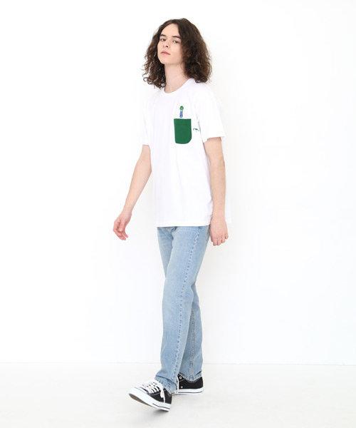 Tシャツ/キャベツくんエンブロイダリー(長新太ショートスリーブティーA)
