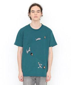 Tシャツ/スロープチェイス(トムとジェリーショートスリーブティーA)
