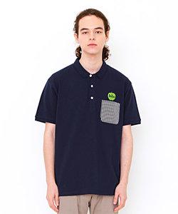 ポロシャツ/グリーンアップルロゴ(ザビートルズショートスリーブポロシャツ)