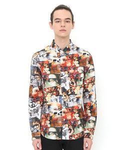 ロングスリーブシャツ/グレムリンコラージュ(グレムリンロングスリーブシャツ)