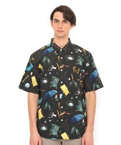 モノモノノケパターン(ツペラツペラショートスリーブシャツ)