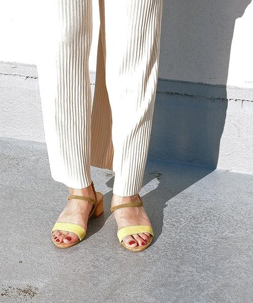 「BONTRE/ボントレ」コルクストラップサンダル/85507[Esmeralda/エスメラルダ 靴]