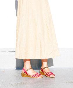 【gaimo/ガイモ】サテンノットサンダル[Esmeralda/エスメラルダ 靴]