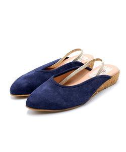 【gaimo/ガイモ】ポインテッドバックベルトミュール[Esmeralda/エスメラルダ 靴]