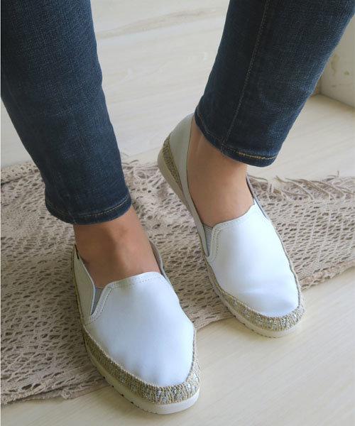 【VERBENAS/ベルベナス】レザーエスパスニーカー[Esmeralda/エスメラルダ 靴]