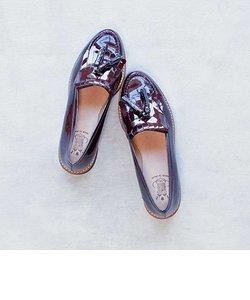 【BONTRE/ボントレ】厚底キルトタッセルローファー[Esmeralda/エスメラルダ 靴]